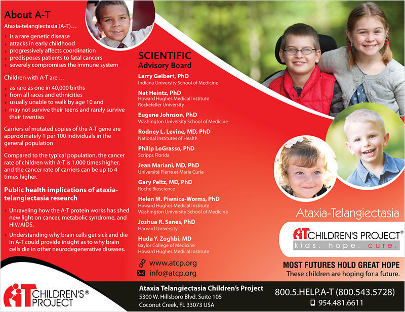 At Children Projects - Tri-Fold Brochure Design