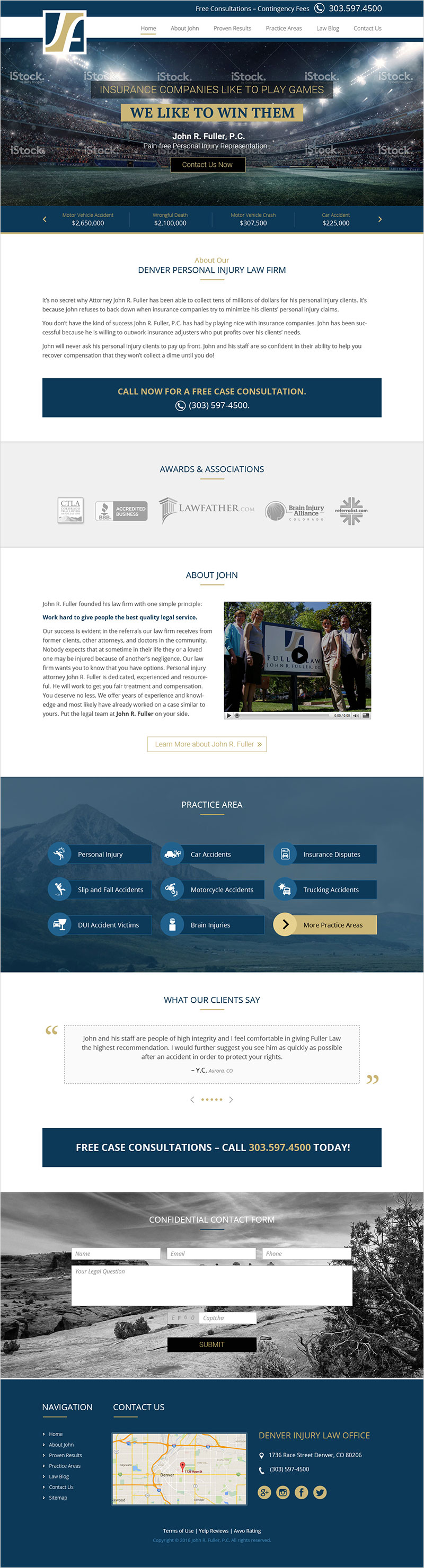 John Fuller - Website Design