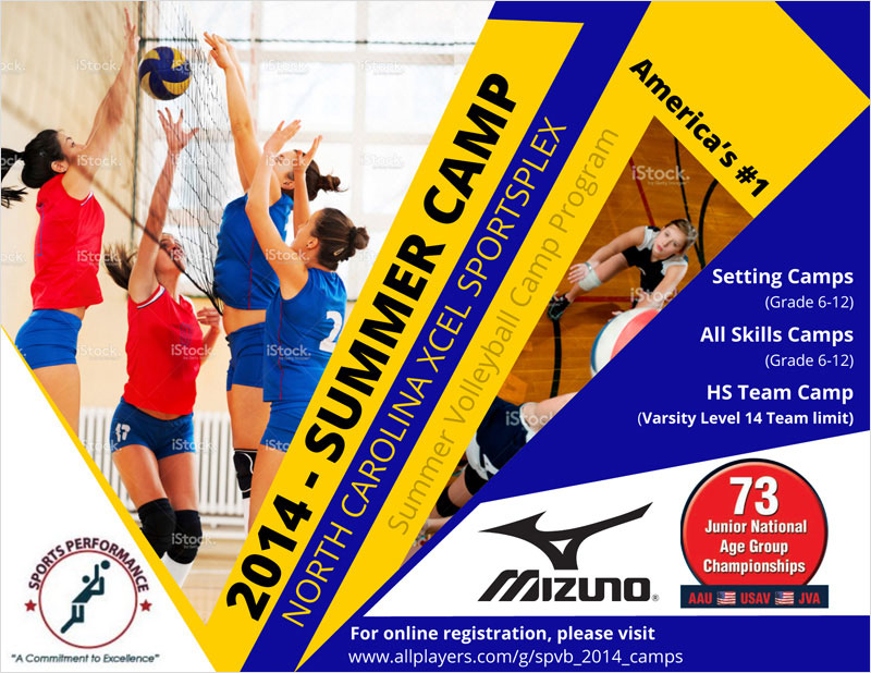 Mizuno - Flyer Design
