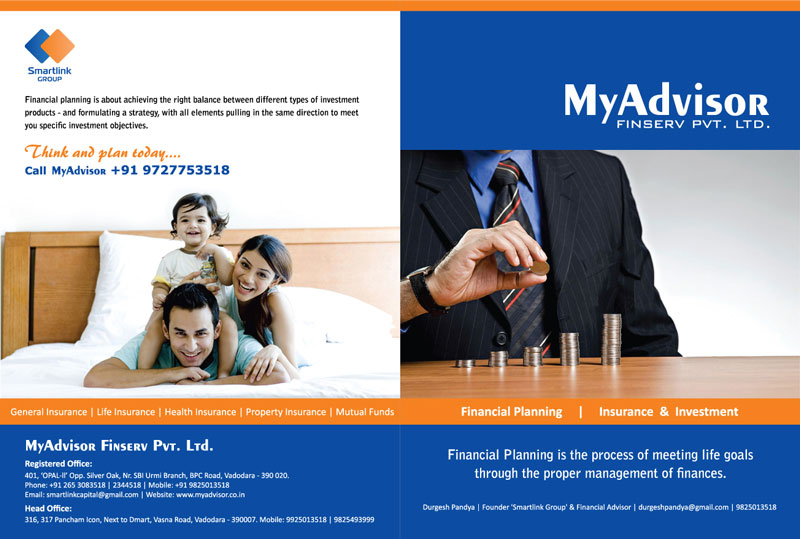MyAdvisro FinServ Pvt. Ltd. - Folder Design Design