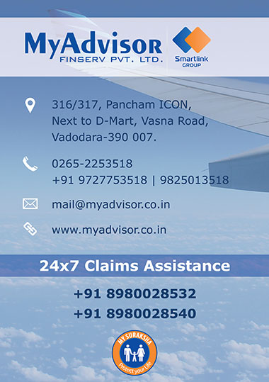 MyAdvisro FinServ Pvt. Ltd. - Travel Flyer Design