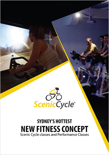 Scenic Cycle - Flyer Design