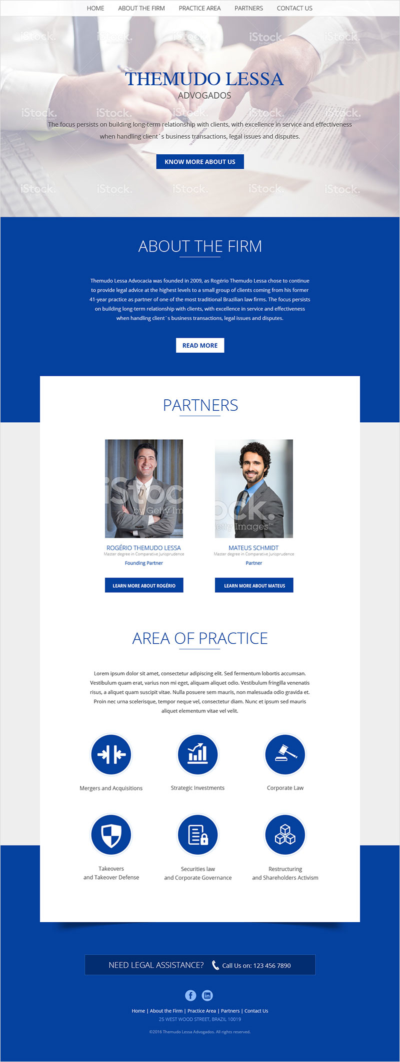 Themudo Lessa - Website Design