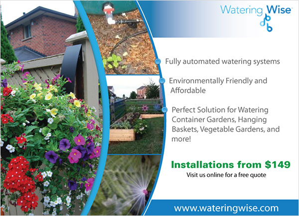Watering Wise - Flyer Design