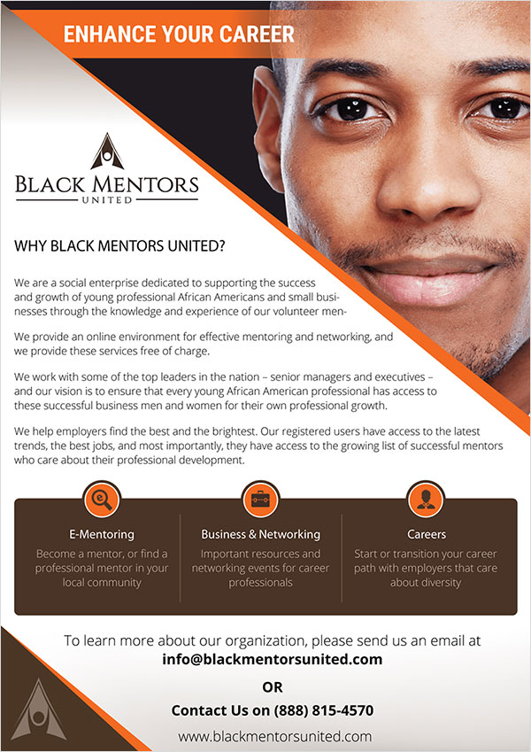 Black Mentors United - Flyer Design