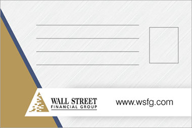 Wall Street - Post Card Design